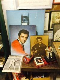 Elvis is in the building...