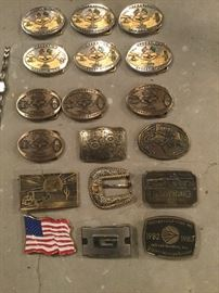 Desert Storm Belt Buckles and others.