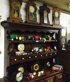 Toys, clocks, Display/China Cabinet