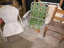 little vintage Children's chairs