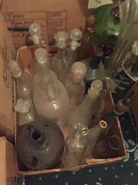 crocks, jugs, early bottles--We got them!