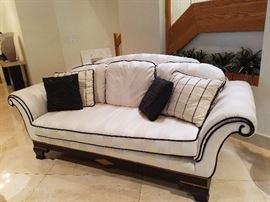 Silk Sofa by Sherrill
