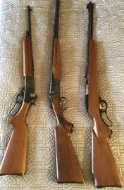 Marlin Lever Action 336 30-30 Rifle 20# Barrel (SOLD) Marlin Lever Action57 22 Caliber Rifle (tube feed) (SOLD) Savage Arms, Fox Model B 20 Gauge Shotgun(double barrel/DLB Trigger)
