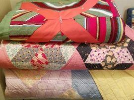 Handsewn Vintage Quilts