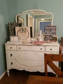 Stunning ANTIQUE Shabby Chic Dresser <3  <3  <3