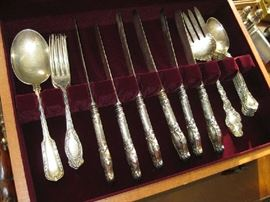 sterling flat ware,