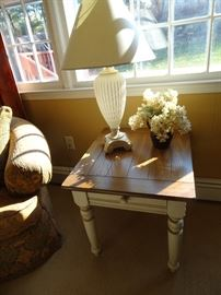 "Lane End Table - 28""L X 28""D X 24""H"
