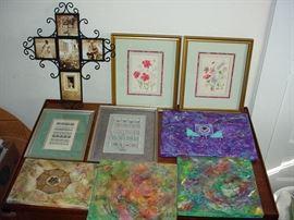 Art Needlework Cross Photo Frame