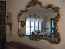 Lots of Beautiful of Mirrors in this home...