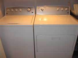 Matching Kenmore Washer & Dryer, just 2 yrs old...