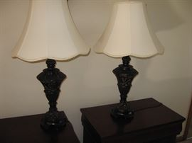 Some of the Many Lamps for sale in this home...