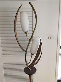 close-up of floor lamp