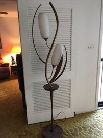 Awesome MCM tulip floor lamp