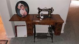 Wheeler and Wilson Antique Sewing Machine