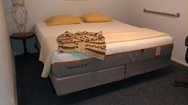 Like New King Tempur-Pedic Bed