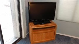 "Tv Stand, 36"" LG Flat Screen TV"