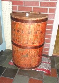 1890 Coffee drum.