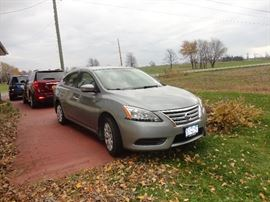2014 Nissan Sentra - 5268 mileage.  Great condition!