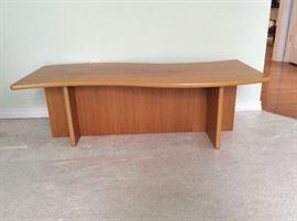 Beni Mobler teak table- 2 pieces. Wave top