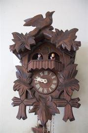 Edelweiss Black Forest German Cuckoo Clock