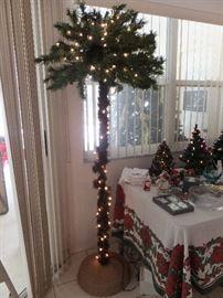 palm tree for Christmas