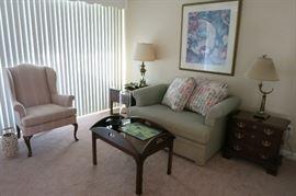 The Sitting Room Has Stiffel, Schwark, Pennsylvania House And Ikea Furnishings