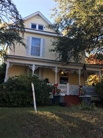 Antique home available for sale in historical district of Marshall Texas