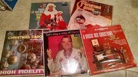 VINTAGE CHRSITMAS ALBUMS....HO HO HO