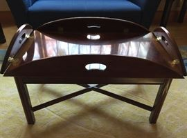 Tray Table with Cherry Inlay