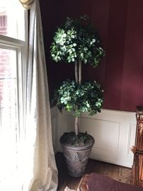 LARGE ARTIFICIAL TOPIARY TREE