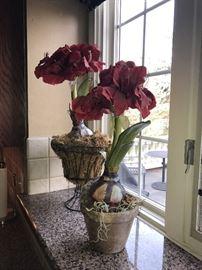 FAUX FLOWERS-HOME DECOR'
