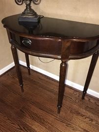 HALF MOON SIDE TABLE