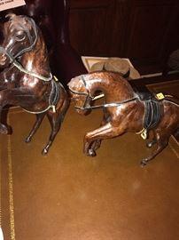 LEATHER HORSES