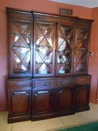 Large Secretary Bookcase  (needs some repairs)