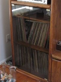 Lots of old records...classic rock, country, more