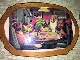 The epitome of good taste...Dogs Playing Poker