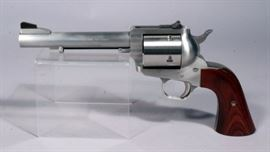 """Freedom Arms Model 83 Premier Grade Revolver, .454 Casull, SN# D9646, 6"""" BBL, Adjustable Sights, Less Than 100 Rounds Fired, With Freedom Arms Holster"""