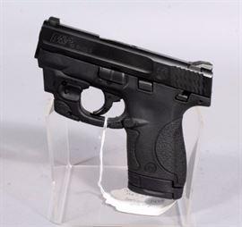 Smith & Wesson M&P 40 Shield Pistol, .40 S&W Cal, SN# HRJ2959, LaserMax Laser Sight, w Box