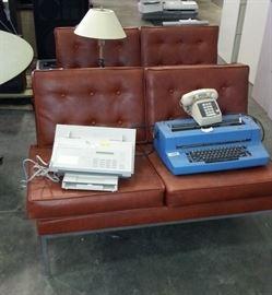 mid century couches