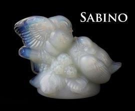 Sabino two love birds, opaque