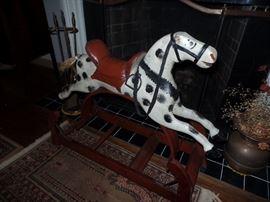 Antique hobby horse