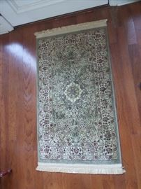 oriental area rug, 7 foot runner, very good condition