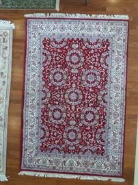 large oriental area rug,6x8, very good condition