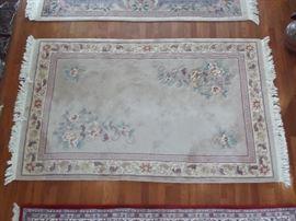 oriental area rug, 6x8, very good condition
