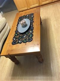 coffee table with matching sofa table