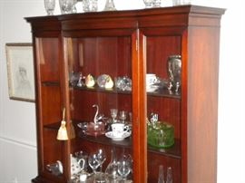 Drexel Travis Court 51″ Bow Front China Cabinet