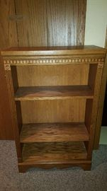Oak bookcase     $45