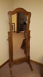 free standing mirror -    $50