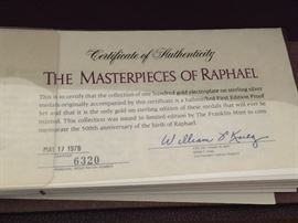 And these are the real McCoy...or should I say Raphael??