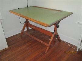 3 Vintage Drafting Tablers